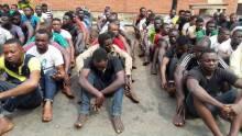 Badoo Suspects [Photo Credit: New Nigerian Newspapers]