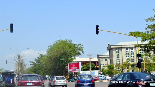 The traffic lights around Wuse II