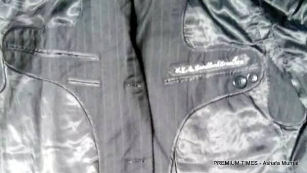 Ex-President Jonathan's clothes