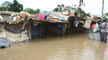 File photo of flood used to illustrate the story