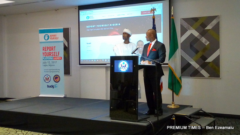 The launching of the Report Yourself Initiative