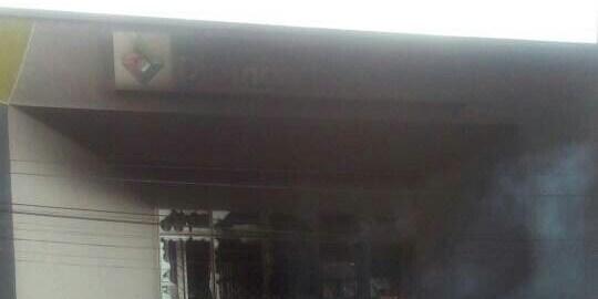 Diamond Bank branch in Apapa razed by Tanker drivers