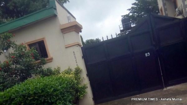 Ex-President Jonathan's house