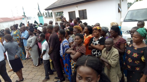 Cross section of the IDPs