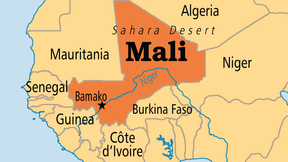Mali On Map Eight UN peacekeepers killed in Mali   Premium Times Nigeria
