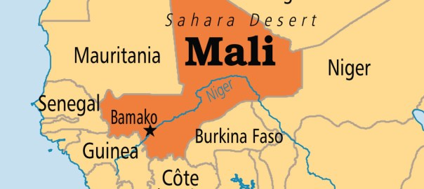 Mali on map [Photo Credit: Operation World]