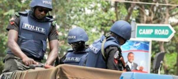 Police officers in Borno [Photo: PlayTV]