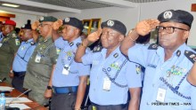 Senior Police Officers at the I-G Conference with Commissioners of Police and other officers above the rank, in Abuja on Wednesday (26/7/17). 03811/26/7/2017/Johnson Udeani/BJO/NAN