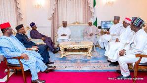 President Muhammadu Buhari with the State governors