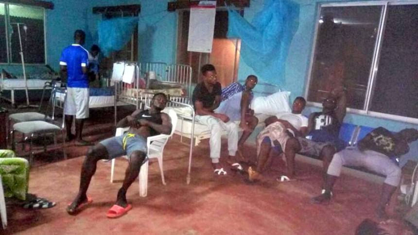 Remo Stars players down with food poisoning