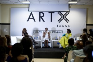 Tokini Peterside ART X Founder in conversation with Mo Abudu, Reni Folawiyo & Bolanle Austen-Peters