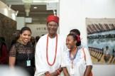 Tokini Peterside ART X Founder, the Obi of Onitsha and Artist Obi Okigbo