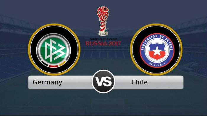 Germany vs Chile [Photo Credit: Goaltogoals]