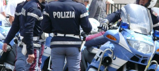Italian Police [Photo Credit: Business Recorder]