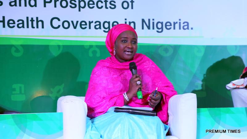 Her excellency Dr. Zainab Shinkafa Bagudu, Wife of the Executive Governor of Kebbi State, founder Medicaid Cancer Foundation & CEO Medicaid Radiodiagnostics.