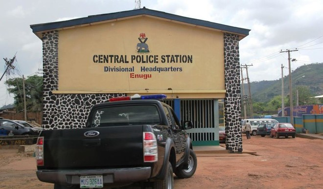 Central Police Station, Divisional Headquaters, Enugu State. [Photo Credit: Daily Trust]