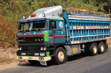 DAF truck in Nigeria. [Photo Credit: Wikimedia Commons]