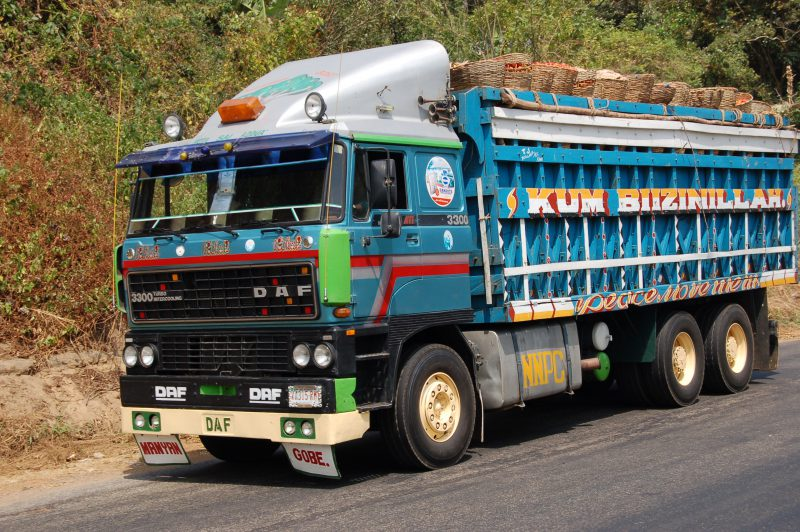 DAF truck in Nigeria. [Photo Credit: Wikimedia Commons]