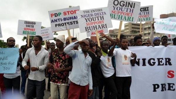 Pro Buhari Protesters