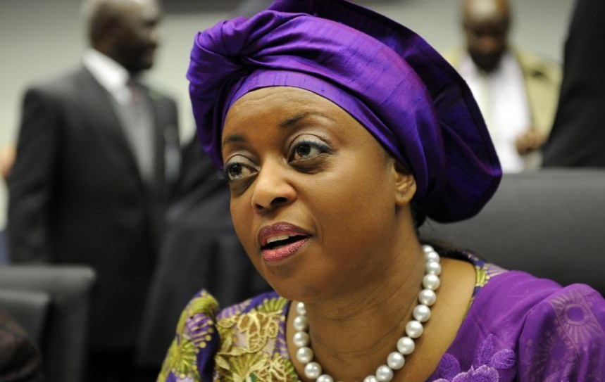 Former         Minister of Petroleum Resources, Diezani Alison-Madueke, wanted         by the EFCC for massive corruption.