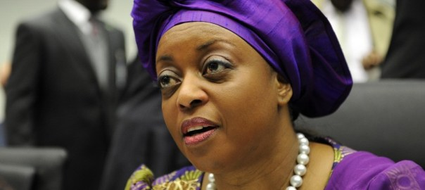Former Minister of Petroleum Resources, Diezani Alison-Madueke dragged by the EFCC.