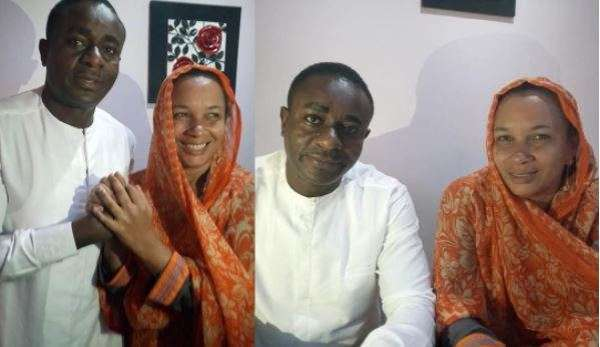 Emeka and Ibinabo pictured together after a truce was called