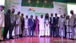 Group photo with the partners at the National Health Dialogue.