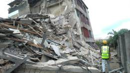 Building Collapse at Ilufe road Alaba International Market Ojo, Lagos