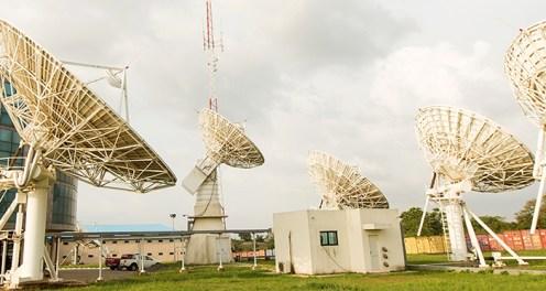 Nigeria's Communication Satellite, NIGCOMSAT. [Photo credit: Nigeria Communications Satelite LTD]