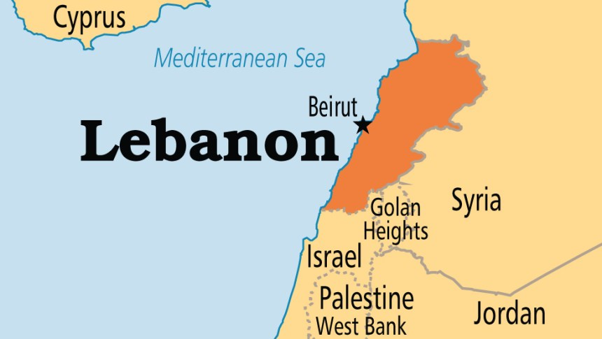Lebanon On Map Lebanon to complain to UN over use of airspace to strike Syria