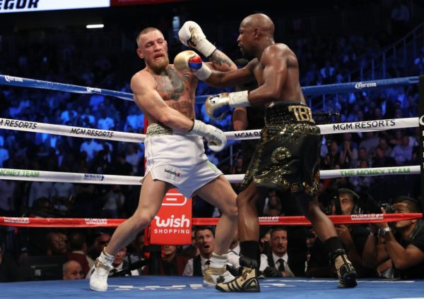 Mayweather Vs McGregor [Photo: NAN]