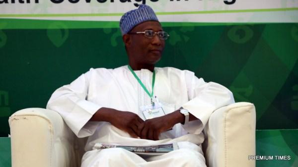 Representing Bauchi Commissioner of Health, Bauchi State.