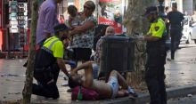Terrorist scene in Barcelona, Spain. [Photo credit: Hindustan Times]