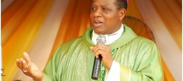 Catholic Bishop of Nsukka Diocese, Godfrey Onah. [Photo credit: PM News]