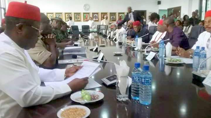 UPDATED: South-east governors proscribe IPOB, ask Buhari to withdraw soldiers from region
