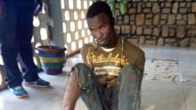 Picture of the suspected murderer who scape from police detention in Port Harcort Ifeanyi Deki.