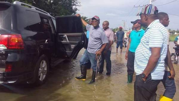 Gov Samuel Ortom of Benue State. [Photo credit: The Nation]