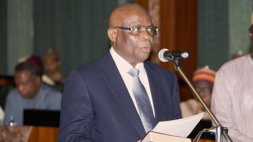 Suspended Chief Justice of Nigeria, Walter Onnoghen