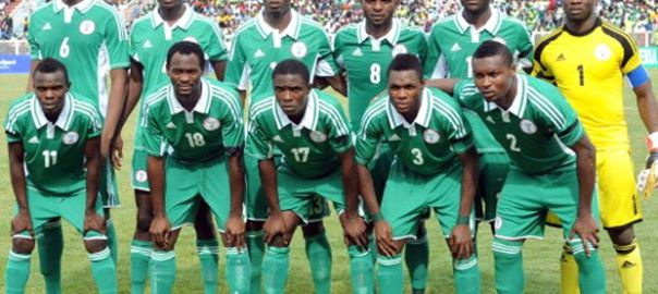 Home based Super Eagles Team. [Photo credit: Goal.com]