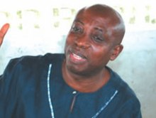 The founder of the Movement for the Actualisation of the Sovereign State of Biafra, Ralph Uwazuruike. [Photo credit: Nigerian Monitor]