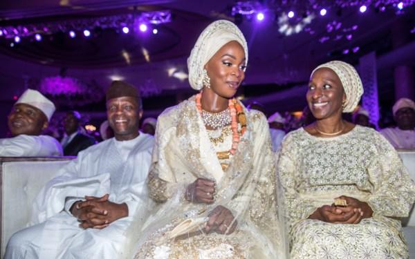 3. Bukola Saraki Daughter's Wedding in Lagos, 28th Oct 20172