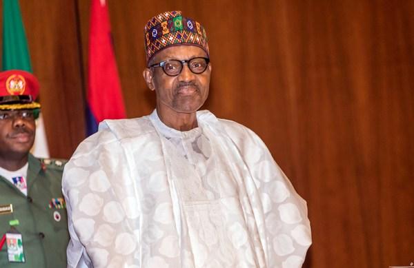 President Buhari at FEC Meeting