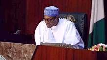 President Muhammadu Buhari-at-FEC Meeting