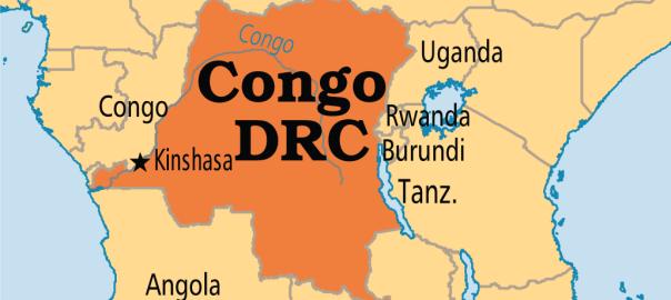 Congo DRC map