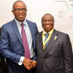 Kachikwu and Baru at NES this evening