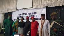 Flag-off of Pension Payment