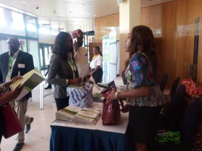 Registration and arrival of guests