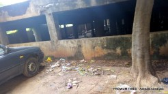 Abandoned structure beside the Federal Secretariat in Abuja