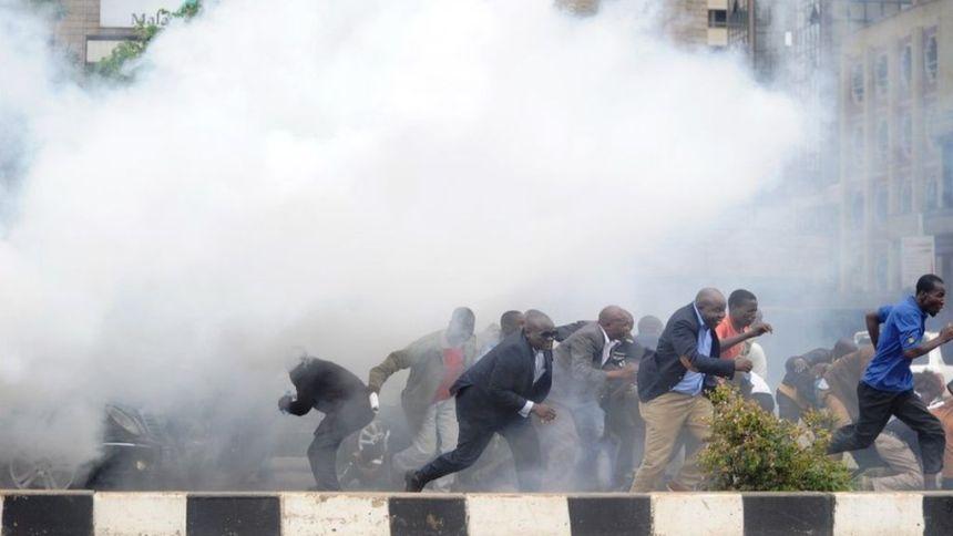 Kenyan protesters  [Photo: bbc.com]