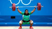 Nigerian Weightlifters